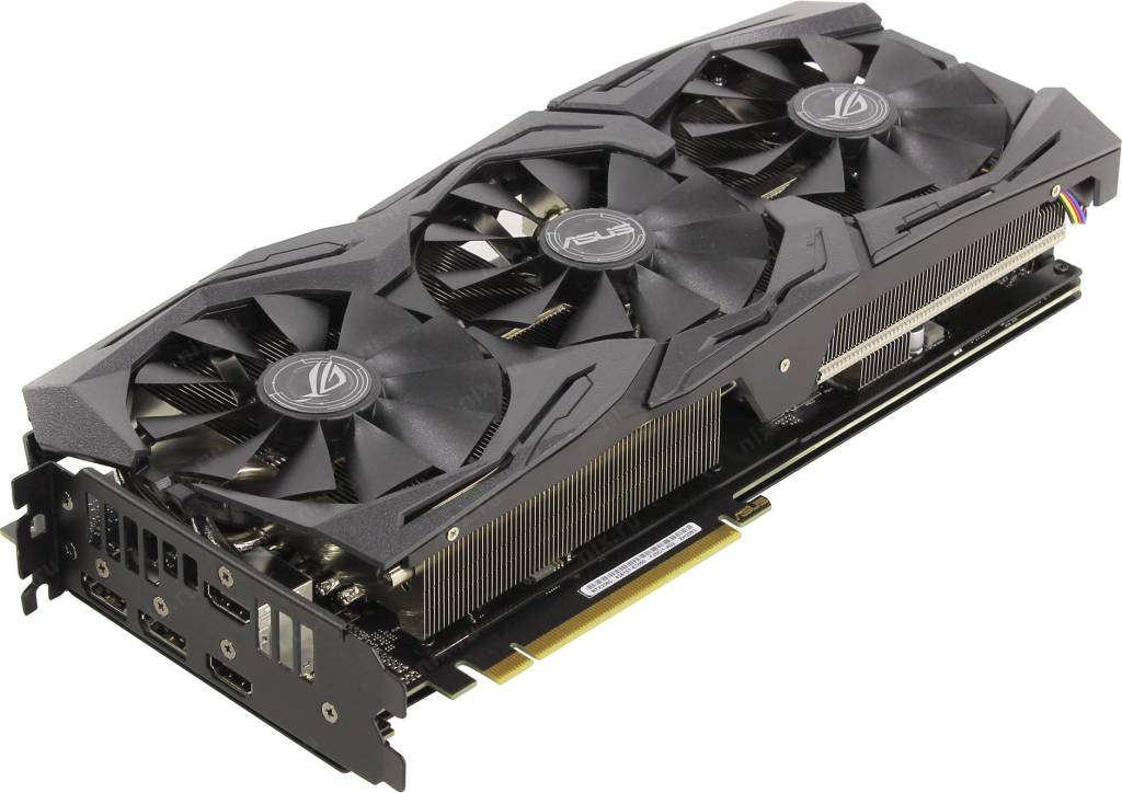 купить Видеоадаптер PCI-E 6Gb GDDR6 ASUS ROG-STRIX-RTX2060-A6G-GAMING (RTL) 2xHDMI+2xDP [GeForce RTX2060]