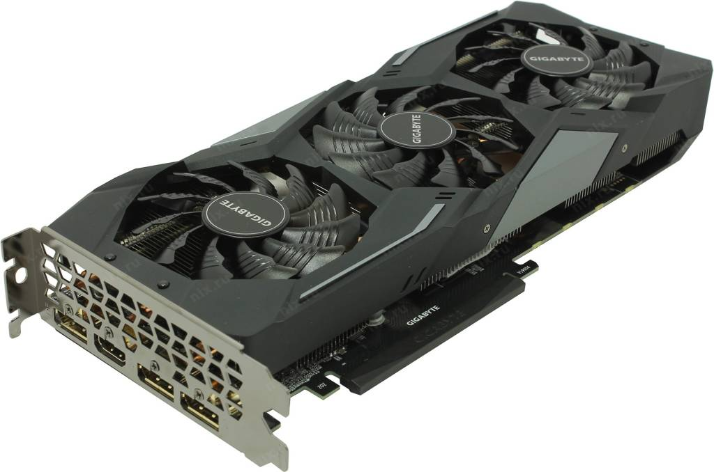 купить Видеоадаптер PCI-E 6Gb GDDR5 GIGABYTE GV-N1660GAMING OC-6GD (RTL) HDMI+3xDP [GeForce GTX1660]