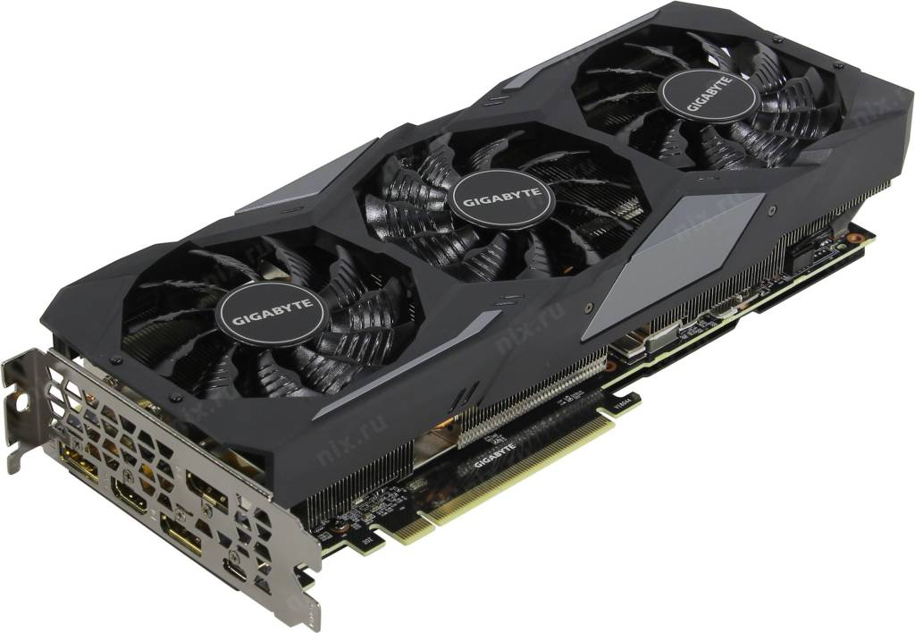 купить Видеоадаптер PCI-E 8Gb GDDR6 GIGABYTE GV-N207SGAMING OC-8GC(RTL)HDMI+3xDP+USB-C[GeForce RTX2070 SUPE  !!! ТОЛЬКО СКЛАД !!!