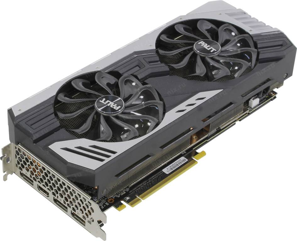 купить Видеоадаптер PCI-E 8Gb GDDR6 Palit [RTX2060 SUPER JS](RTL) HDMI+3xDP [GeForce RTX2060]