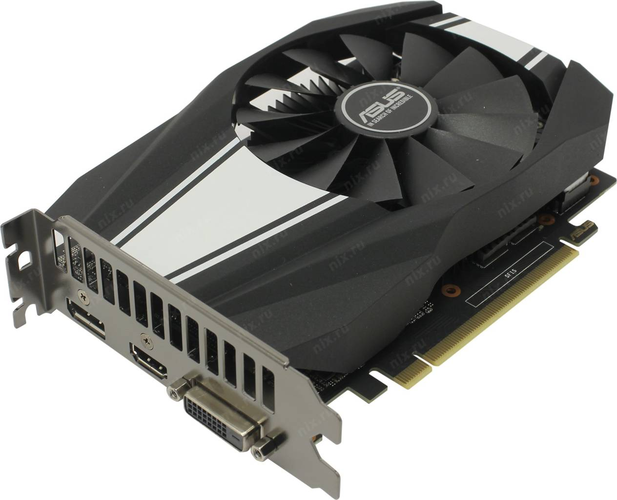 купить Видеоадаптер PCI-E 6Gb GDDR6 ASUS PH-GTX1660S-6G (RTL) DVI+HDMI+DP [GeForce GTX1660 SUPER]