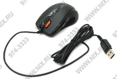 купить Мышь USB A4-Tech Mini Optical Mouse [X-710MK-Black] (RTL) 6кн.(с колесом)