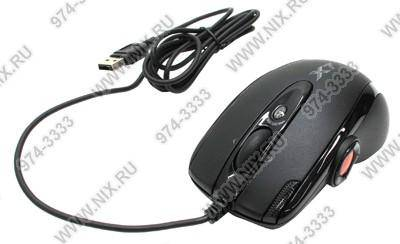 купить Мышь USB A4-Tech Game Optical Mouse [X-755K-Black] (2000dpi) (RTL) 10кн.(с колесом)