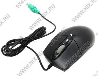 купить Мышь PS/2 A4-Tech Optical Mouse [OP-720-Black] (RTL) 3кн.(с колесом)