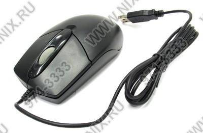 купить Мышь USB A4-Tech Optical Mouse [OP-720-Black(1)] (RTL) 3кн.(с колесом)